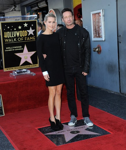 David Duchovny Walk of Fame Star - Claire Holt 12