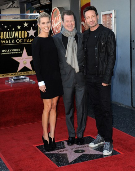 David Duchovny Walk of Fame Star - Claire Holt 15