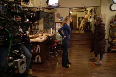 BTS The Fosters 3x13 - TERI POLO, MAIA MITCHELL
