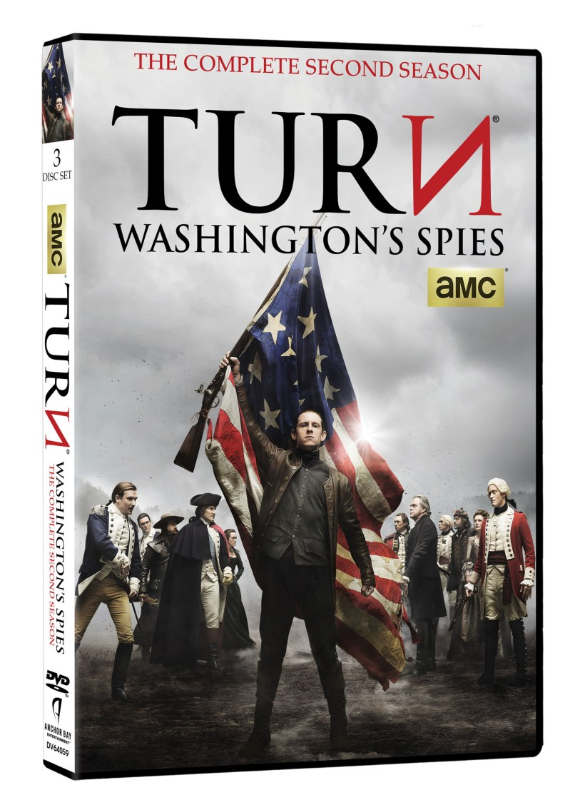 Turn Season 2 DVD 3D