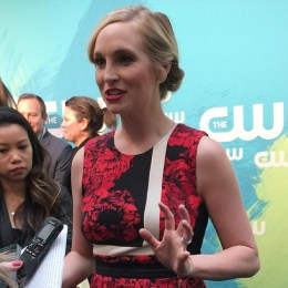 CW Upfronts 2016 - Candice King 1