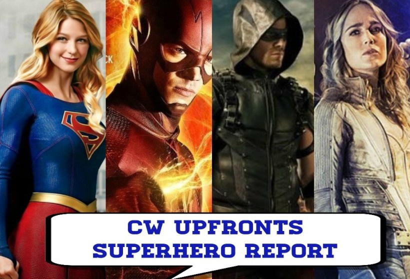 CW Upfronts Superhero Report