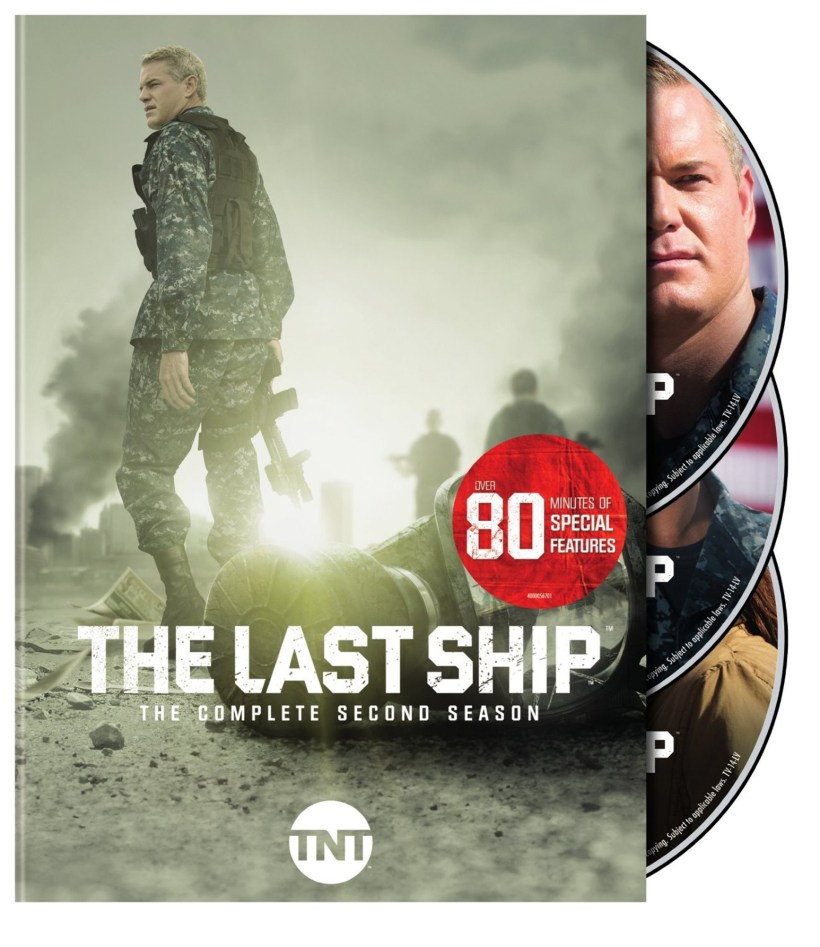 THE LAST SHIP: THE COMPLETE SECOND SEASON. (DVD Artwork). ©Turner Home Entertainment.