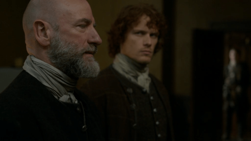 Outlander Dougal and Jamie