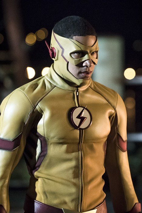 The Flash 3x Kid Flash Keiynan Lonsdale