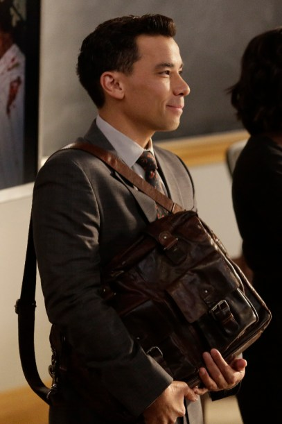 How To Get Away With Murder 3x02 - CONRAD RICAMORA