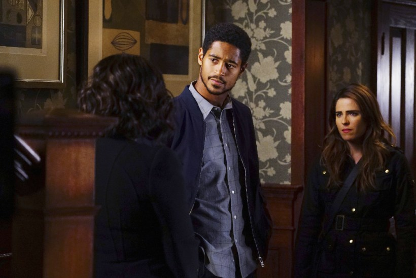 How To Get Away With Murder 3x05 - ALFRED ENOCH, KARLA SOUZA