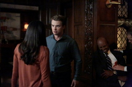 TIME AFTER TIME 1x04 -FREDDIE STROMA, STEVE BROWN