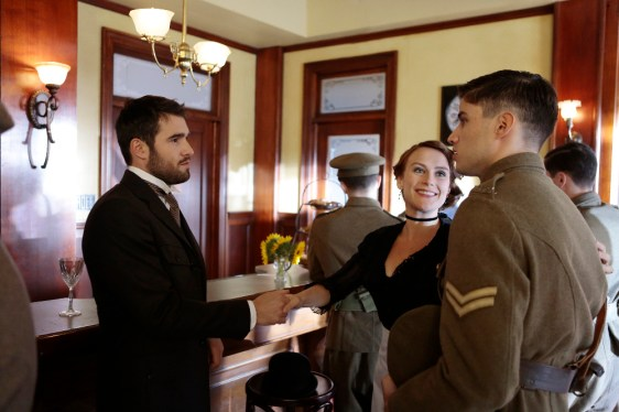 TIME AFTER TIME 1x05 - JOSH BOWMAN, LESLIE FRAY, CAMERON CUFFE