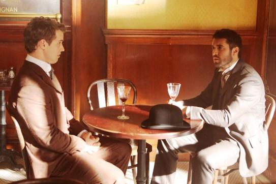 TIME AFTER TIME 1x05 - QFREDDIE STROMA, JOSH BOWMAN