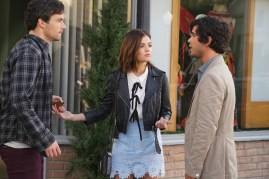 Pretty Little Liars 7x11 - IAN HARDING, LUCY HALE, SHANE COFFEY