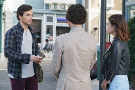 Pretty Little Liars 7x11 - IAN HARDING, LUCY HALE