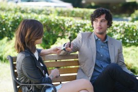 Pretty Little Liars 7x11 - LUCY HALE, SHANE COFFEY