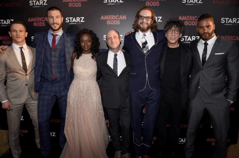 American Gods Cast Black Carpet Premiere