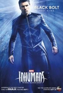 Inhumans Character Poster- BlackBolt