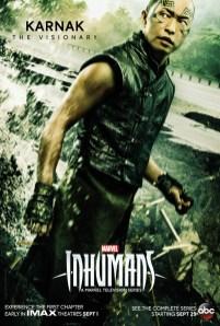 Inhumans Character Poster- Karnak
