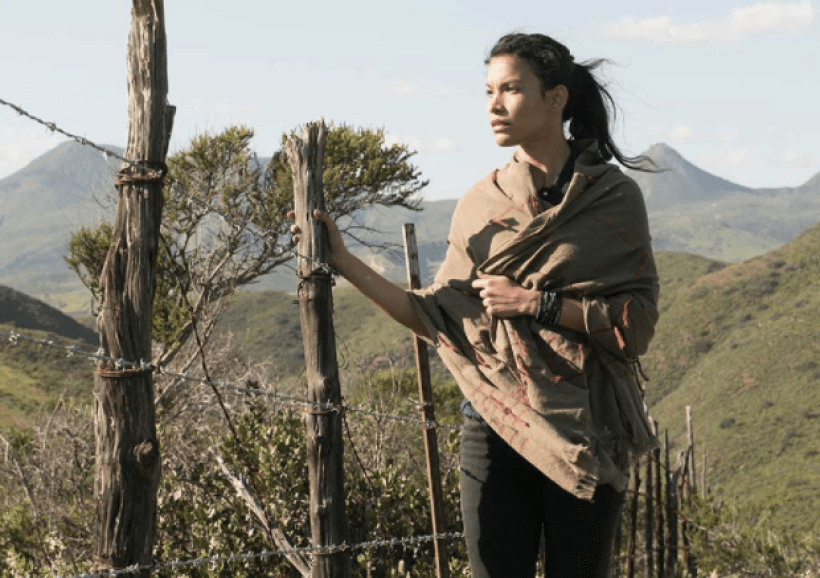 Danay Garcia as Luciana Galvezin the Fear The Walking Dead Midseason Premiere