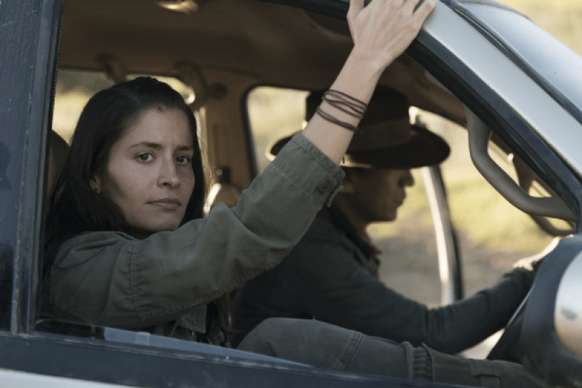 Mercedes Mason as Ofelia Salazar in the Fear The Walking Dead Midseason Premiere