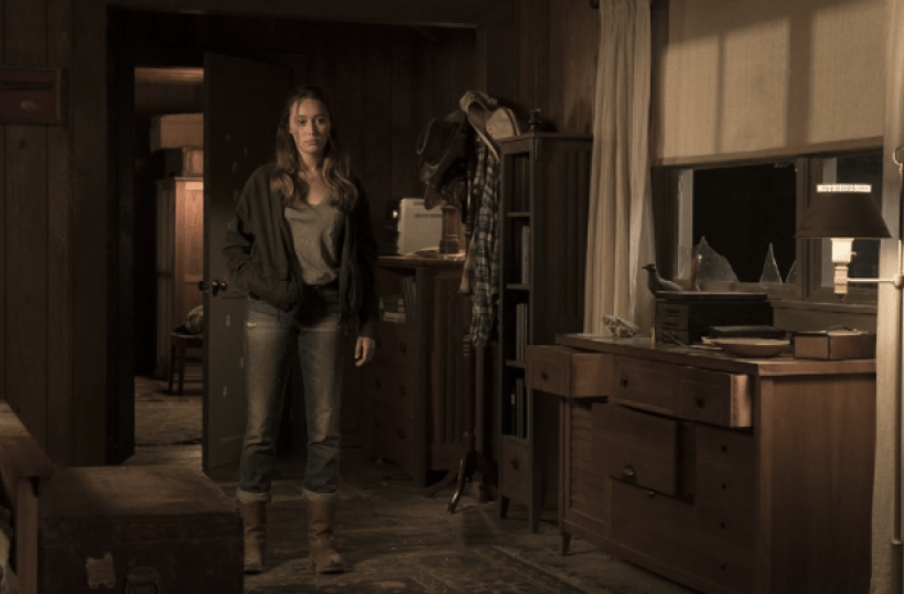 Alycia Debnam Carey as Alicia Clark in the Fear The Walking Dead Midseason Premiere