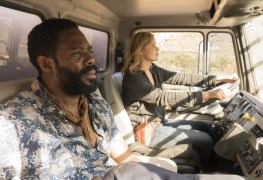 Colman Domingo as Victor Strand, Kim Dickens as Madison Clark - Fear the Walking Dead _ Season 3, Episode 11 - Photo Credit: Richard Foreman, Jr/AMC