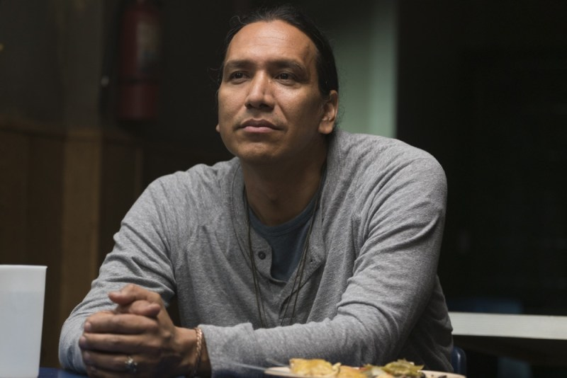 Michael Greyeyes as Qaletaqa Walker- Fear the Walking Dead _ 3x11 - Photo Credit: Richard Foreman, Jr/AMC
