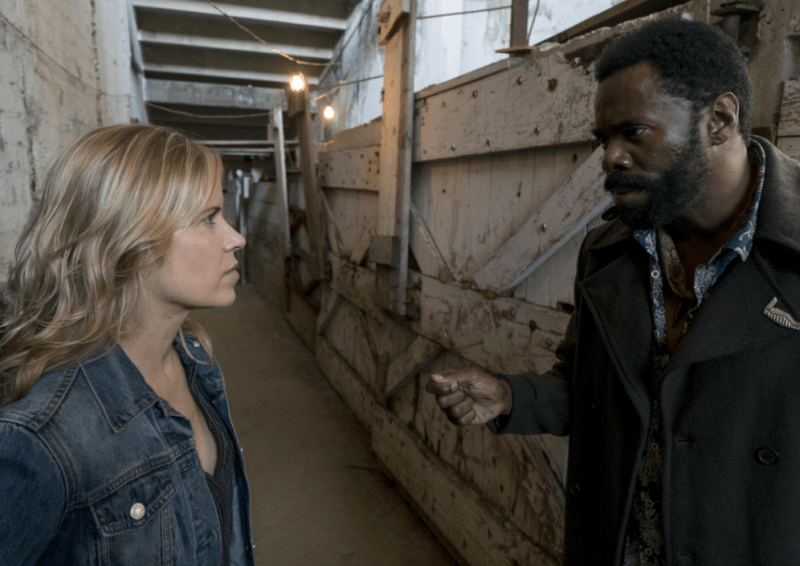 Fear The Walking Dead 3x14 El Matadero Kim Dickens Colman Domingo