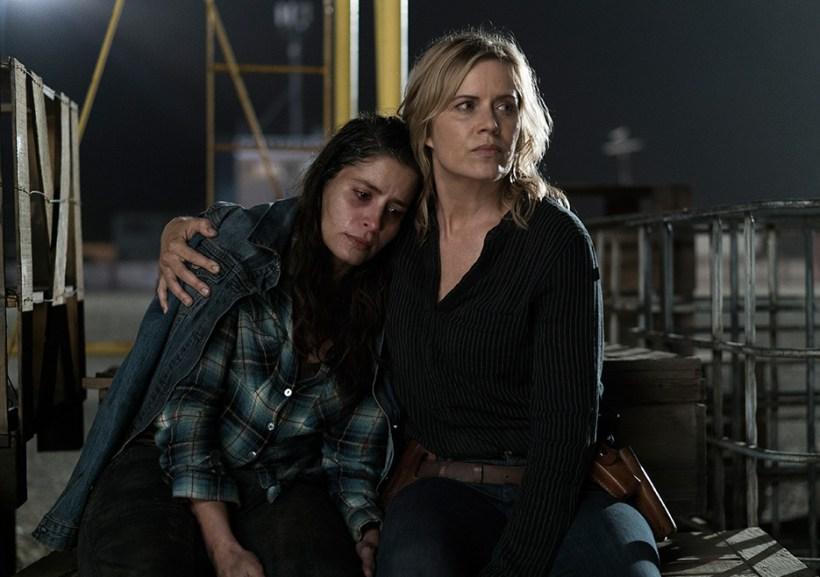 Fear The Walking Dead 3x14 El Matadero Kim Dickens Mercedes Mason