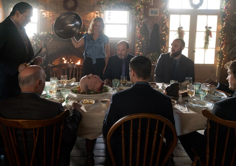 fear the walking dead season 3 finale christmas dinner