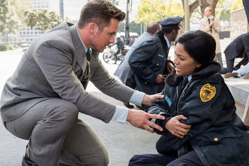 "Timeless 2x08 ""The Day Reagan Was Shot"""