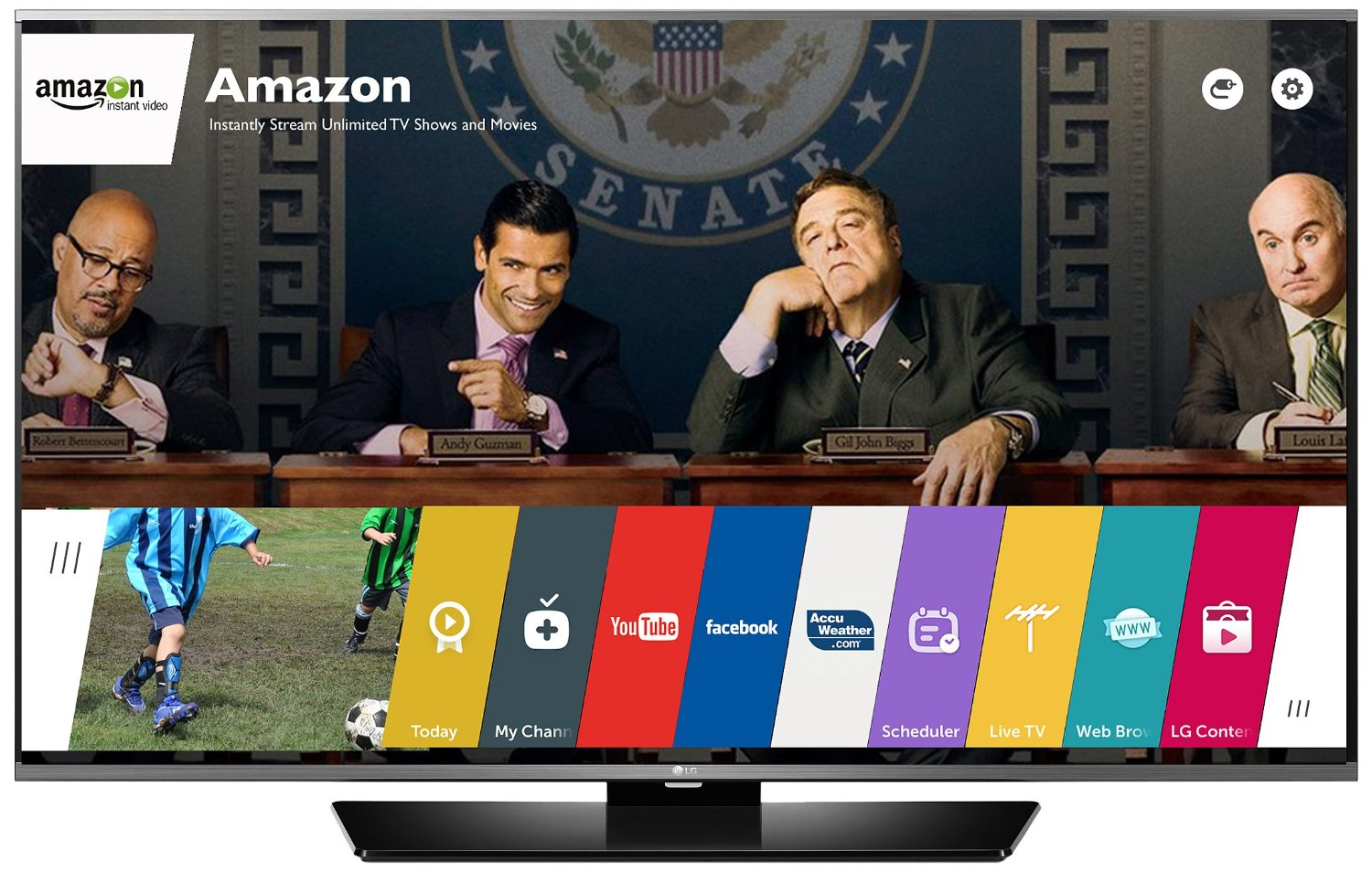 Can you get tv channels without cable hookups