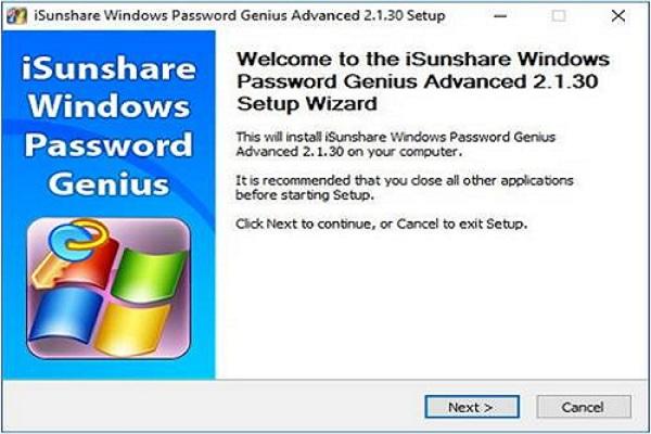 WinPassKey click next
