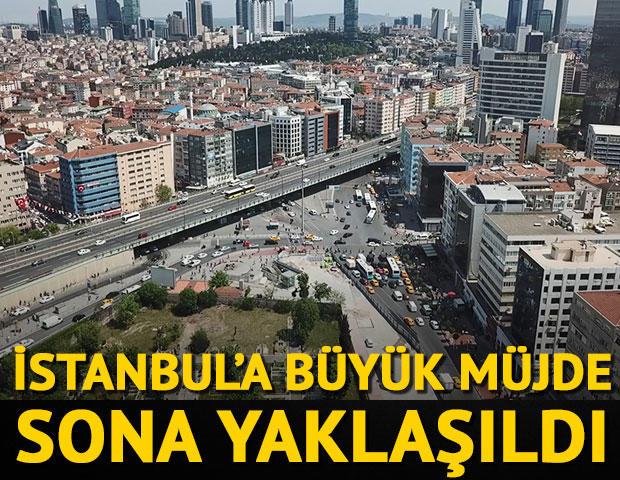 İstanbul'a büyük müjde! Sona yaklaşıldı.Beşiktaş-Mecidiyeköy: 5,5 dk.