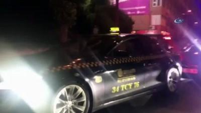 Bakan Kaya Taksi Direksiyonuna Geçti, İstanbul'u Dolaştı , Beşiktaş'ta Taksi Durağını Ziyaret Etti