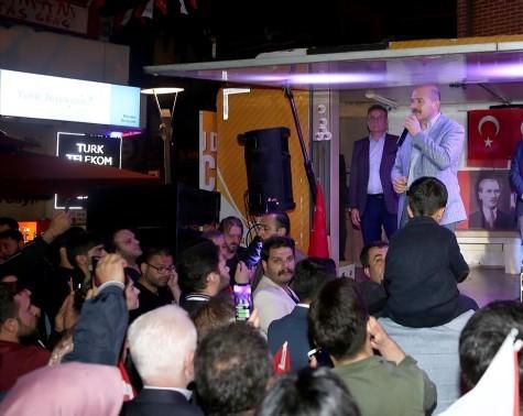 Bakan Soylu'dan Beşiktaş'ta muhalefete sert 'Demirtaş' tepkisi