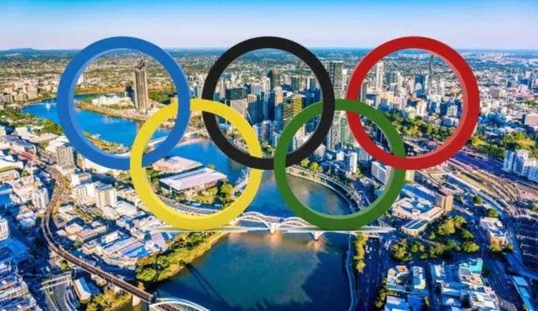 Olympics in Brisbane (image - swimmingworldmagazine.com)