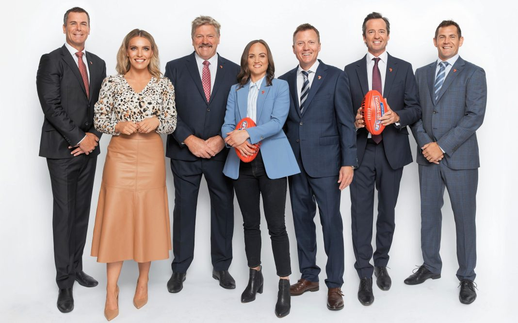 The Seven Sport AFL Commentary Team (image - Channel 7)