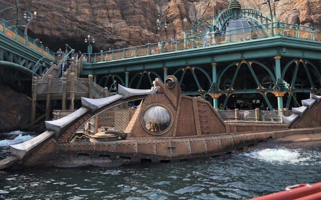 Nautilus attraction at Disneyworld (image - Disney)