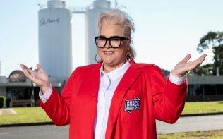 Yvie Jones will present Snackmasters on Nine (image - Channel 9)