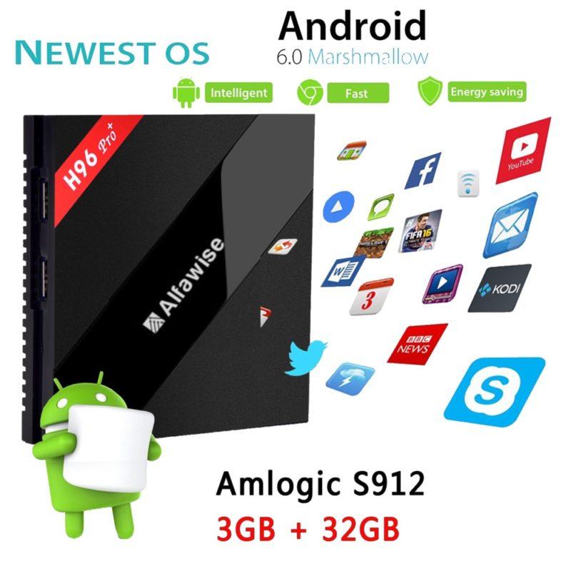 Alfawise H96 Pro+ 4