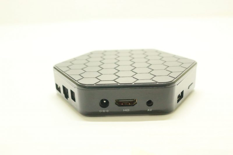 Sunvell T95Z Plus Amlogic S912 TV Box Rear