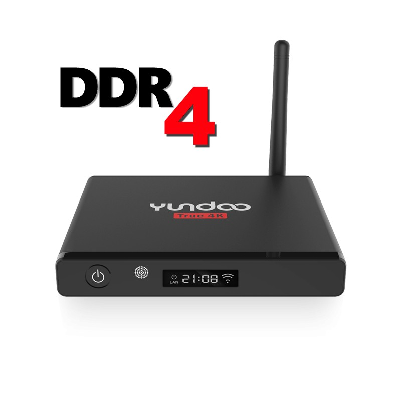 Yundoo Y7 Amlogic S905X DDR4 TV Box
