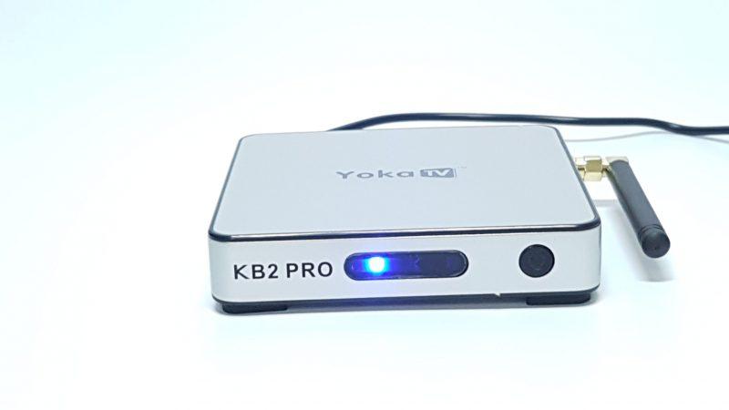 YokaTV KB2 Pro 3GB DDR4 Android 6.0 4k TV Box front