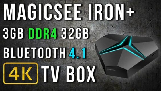 Magicsee Iron+ 4K TV Box