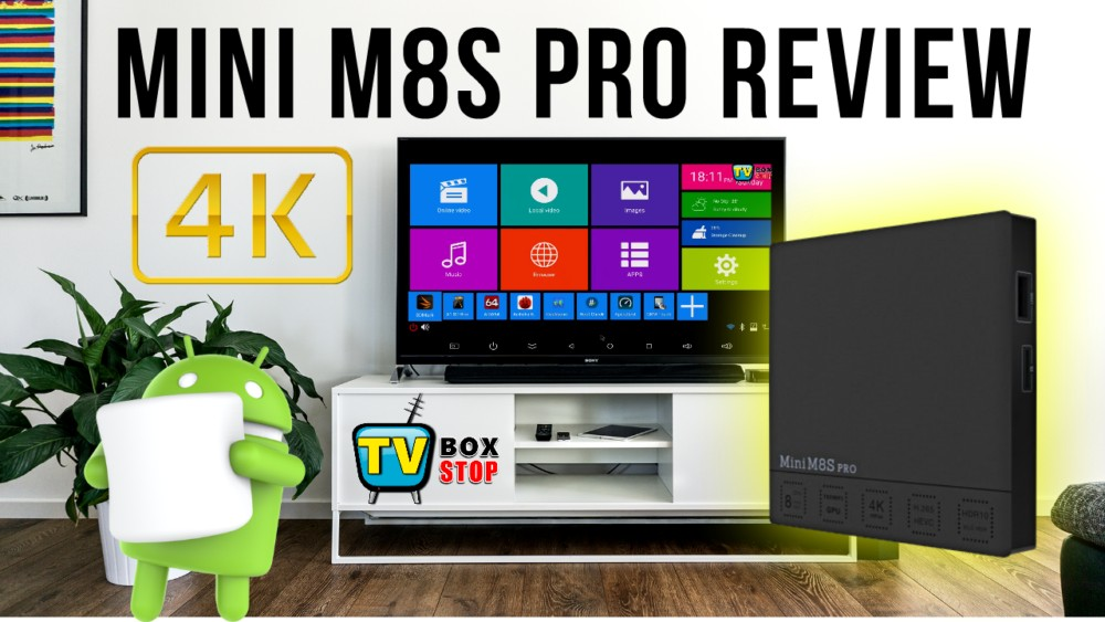 Mini M8S Pro Android TV Box