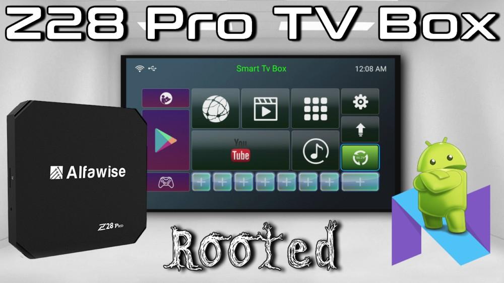Alfawise Z28 Pro TV box