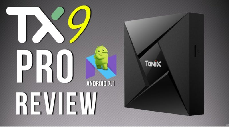 Tanix TX9 Android 7