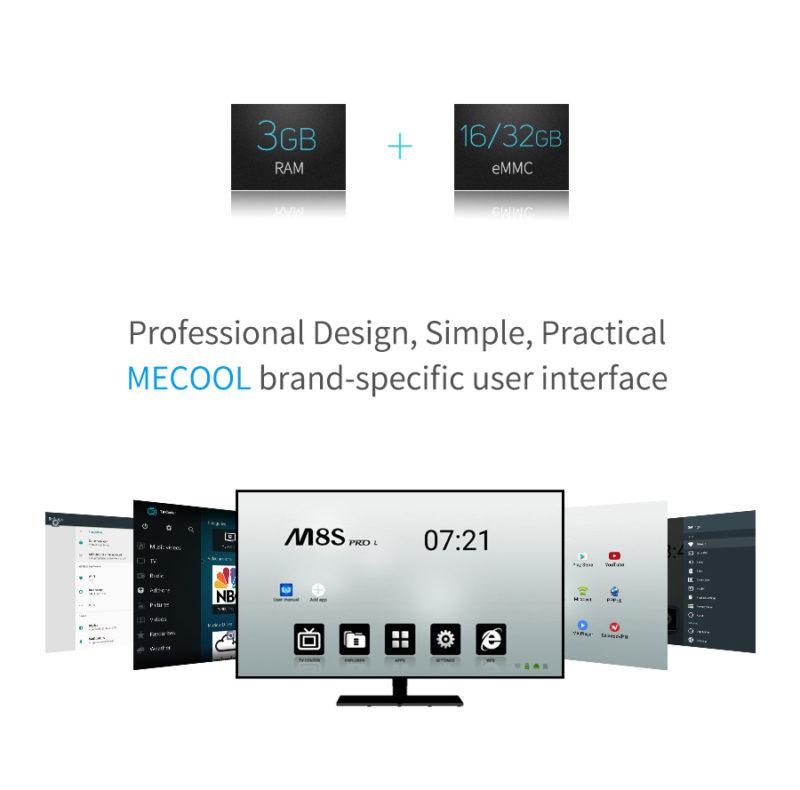Mecool M8S Pro L Memory
