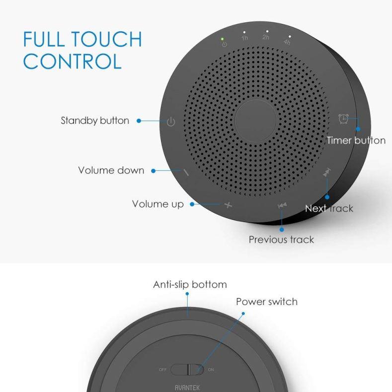 Avantek Wn-1C controls