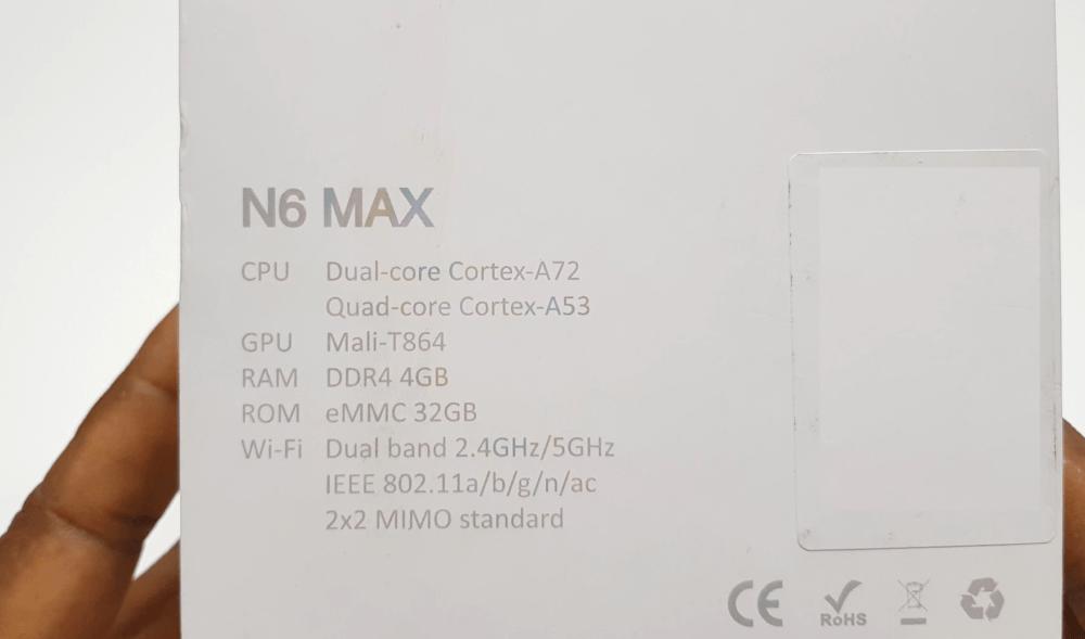 Magicsee_N6_Max_specs