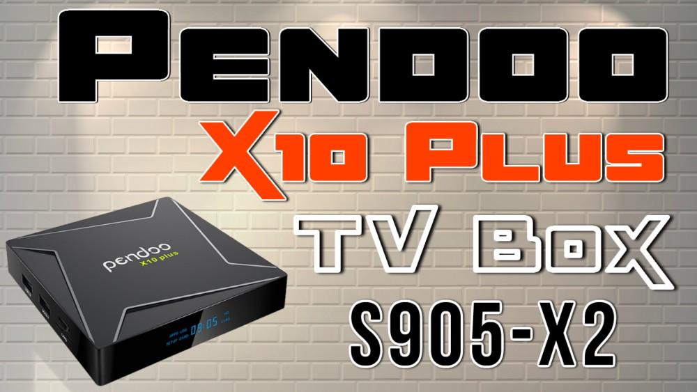 Pendoo X10 Plus Banner
